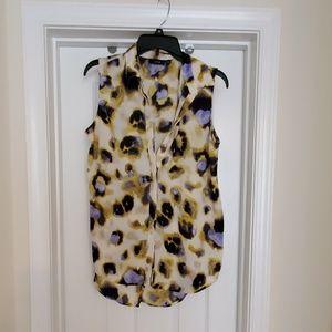 Women's Apt 9 sleeveless high-low blouse